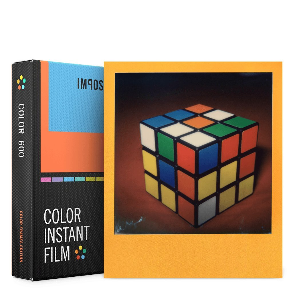 Impossible 4522Color Película Instantánea para Cámaras Polaroid 6008Tomas con Color de Marco PRD4522