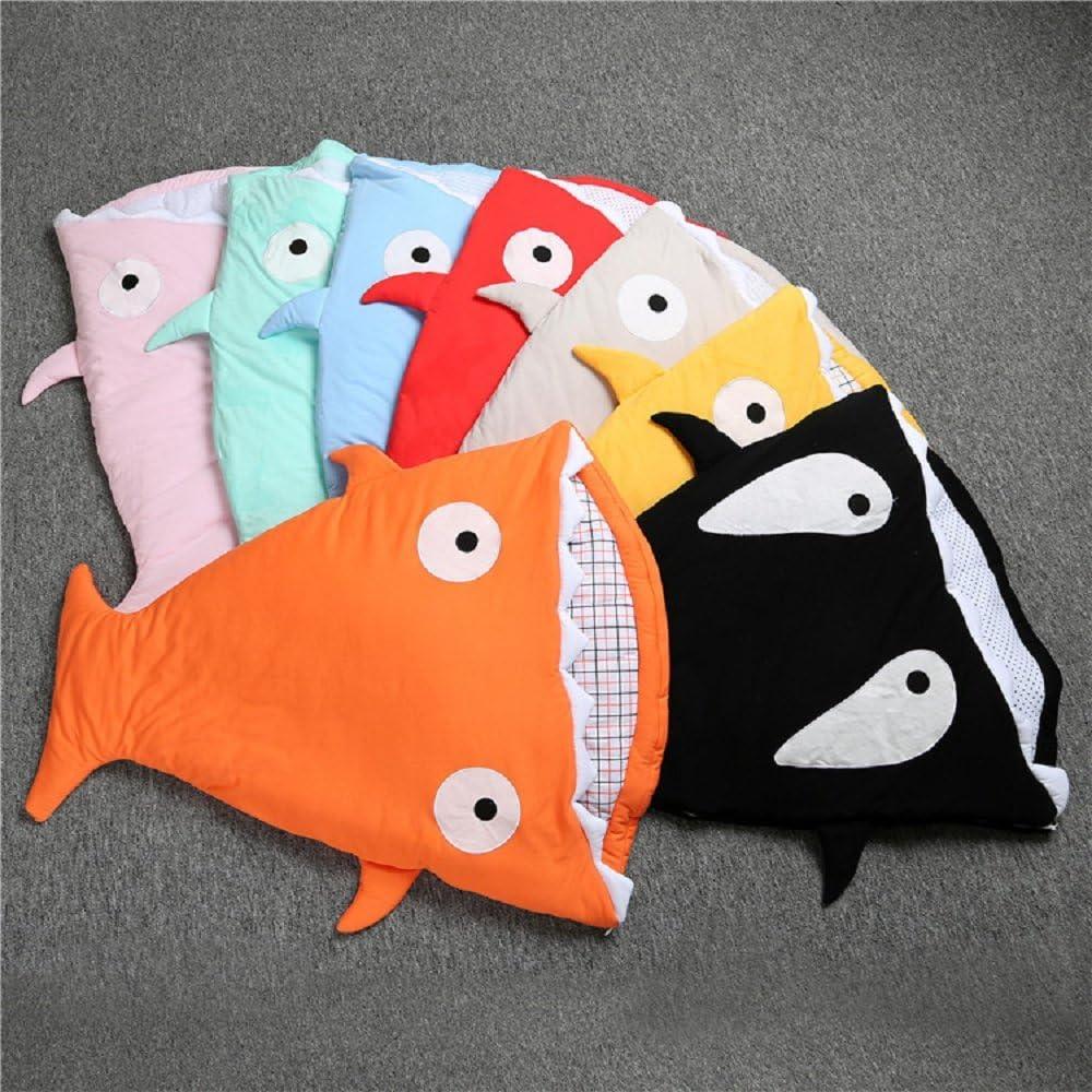 Saco de dormir de algod/ón para beb/é 0 a 3 a/ños multicolor color 1 Talla:0-3 ans dise/ño de pez algod/ón grueso iZiv