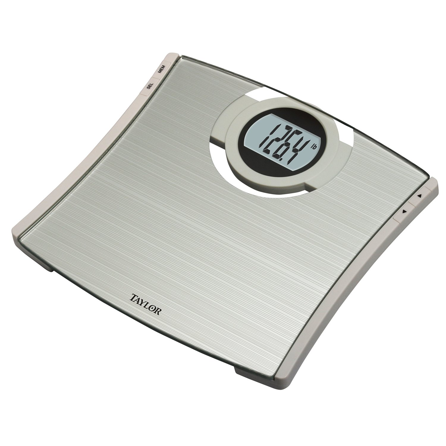 bathroom scale walmart. Amazon com  Taylor Precision Products Glass CalMax Electronic Scale 7209W Health Personal Care