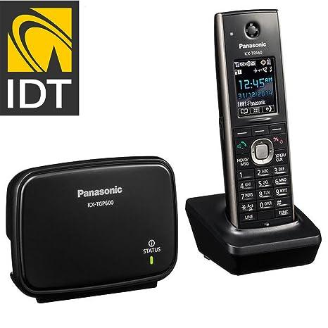 Panasonic kx-tgp600 Sip DECT unidad Base con kx-tpa60 auricular inalámbrico sistema de
