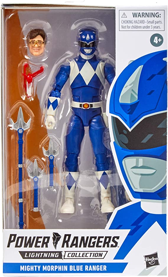 NEW Mighty Morphin Power Rangers Lightning Collection Blue Ranger Billy *LOOSE*