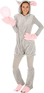 dressforfun Disfraz de ratón para Hombre Mujer | Divertido Disfraz ...