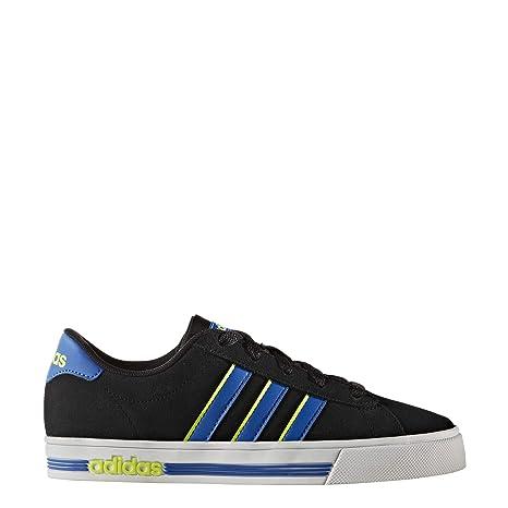 competitive price 6e08a b981a Adidas Daily Team K - Zapatillas deportivaspara niños, Negro - (NegbasAzul