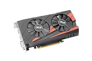 ASUS - NVIDIA GeForce GTX 1050 Ti 4GB GDDR5 - Tarjeta grafica