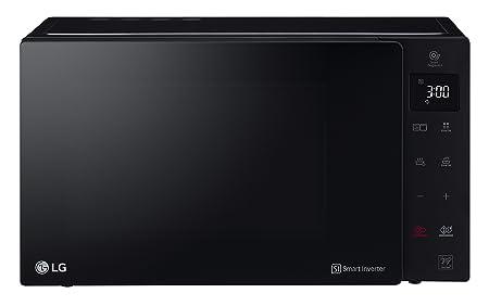 LG MH6535GIS Sobre el rango - Microondas (Sobre el rango, Microondas combinado, 25 L, 1000 W, Tocar, Negro): Amazon.es: Hogar
