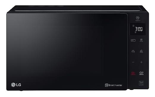 LG MH6535GIS Sobre el rango - Microondas (Sobre el rango, Microondas combinado, 25 L, 1000 W, Tocar, Negro)