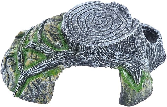 POPETPOP Plataforma para Tomar el Sol de Tortuga - terraza de la rampa de Escalada - útil Escalera de Roca portátil para Reptiles Dentro de la decoración del hogar: Amazon.es: Productos para