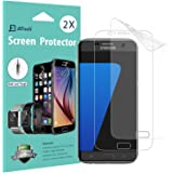 Galaxy S7 Screen Protector, [Full Coverage], JETech SOFTOUGH 2-Pack TPE Ultra HD Screen Protector Film for Samsung Galaxy S7