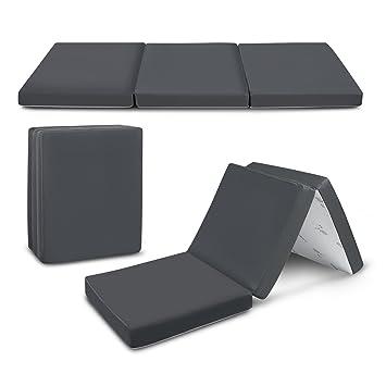 Amazon.com: Trifold – Colchón plegable (de espuma ligera y ...