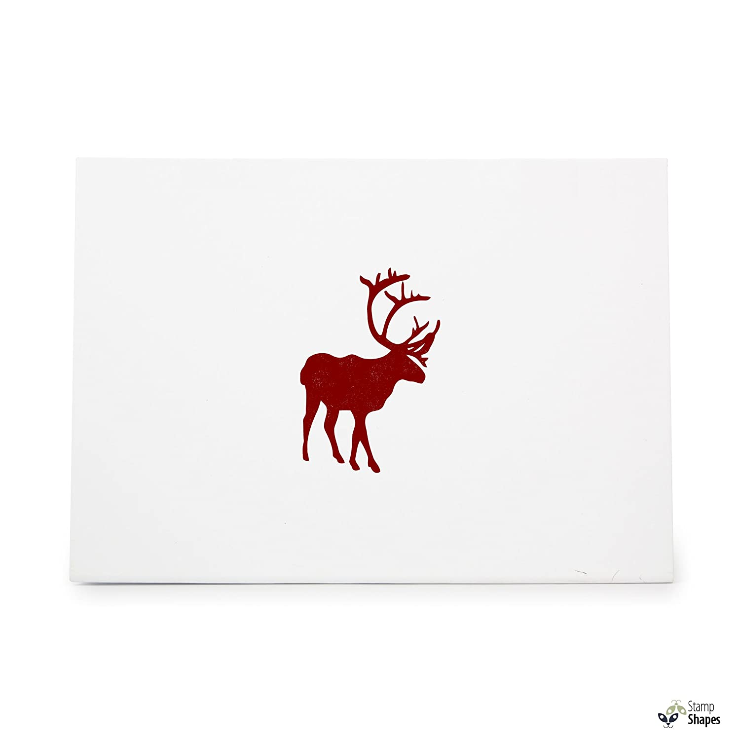 Amazon Deer Rubber Stamp Shape Great For Scrapbooking Crafts Card Making Ink Stamping Item 1321841 Arts Sewing