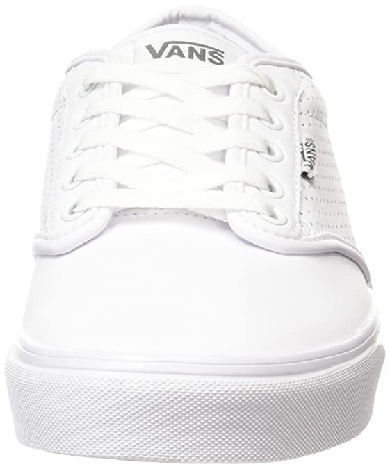 Vans Men's Atwood Perf Leather Shoes WhiteWhite Fashion Sneakers