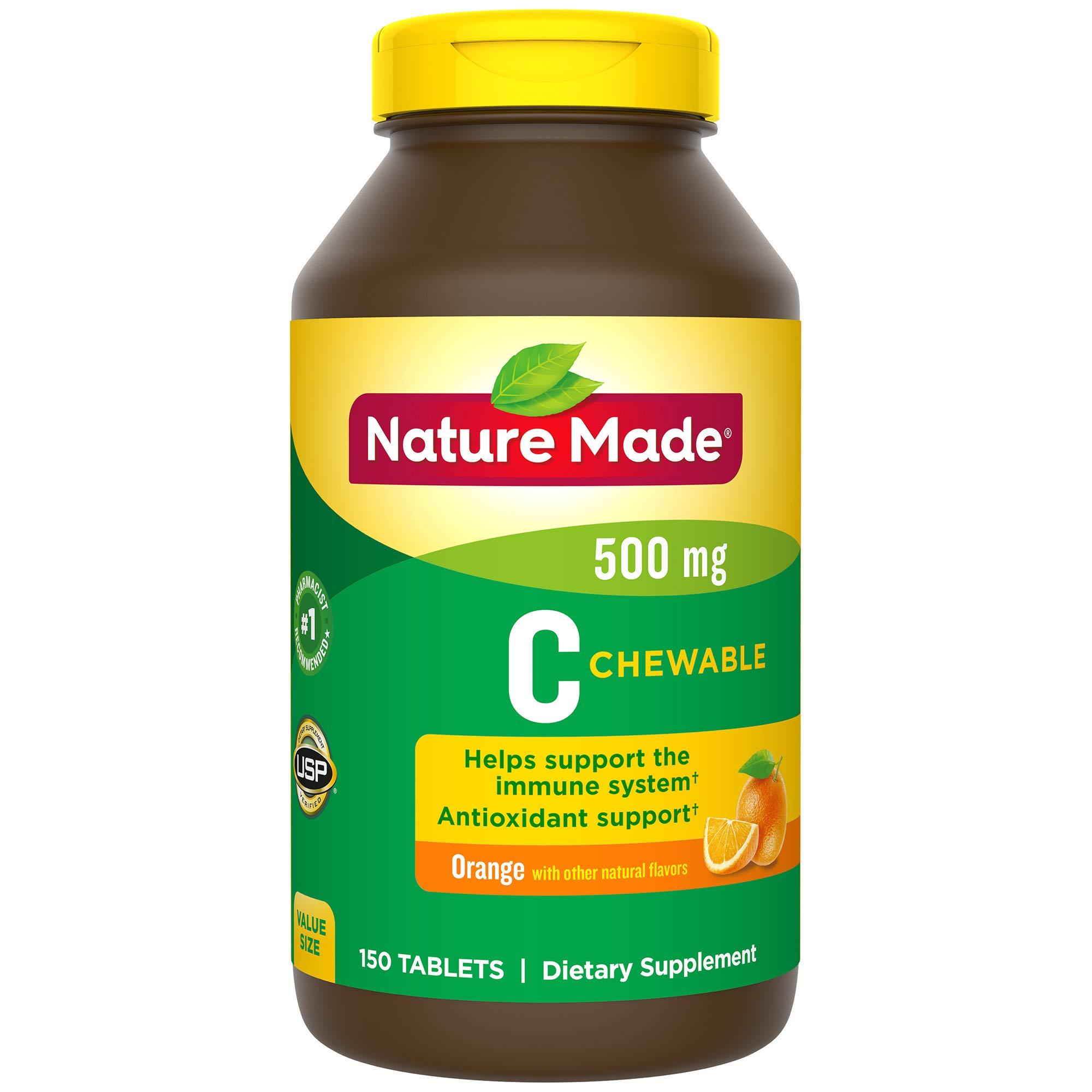 Nature Made Chewable Vitamin C 500 mg
