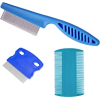 zYoung 3 Pcs Pet Comb Tear Stain Remover Combs for Dogs, Dog Comb