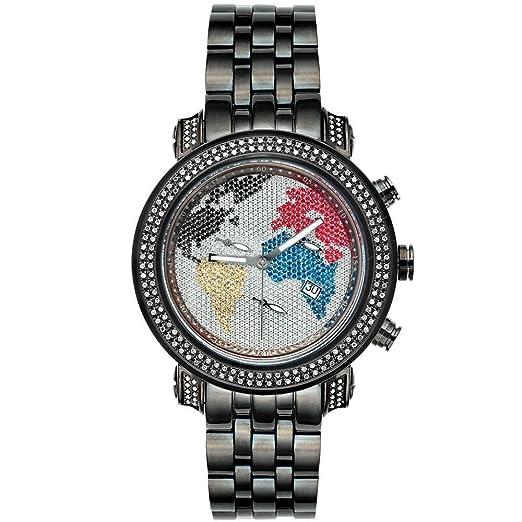 Herren Joe Classic Rodeo Uhr Schwarz 1 Diamant 75 Ctw nPO8wkX0