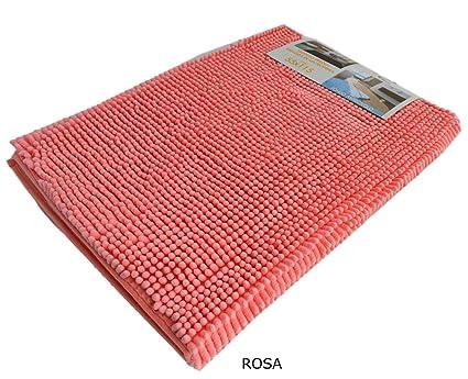 Bagno Lilla E Rosa : Centesimo web shop tappeto bagno shaggy in offerta stock in 4 colori