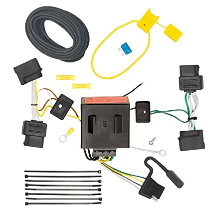 amazon com tow ready 118551 t one connector assembly for ford rh amazon com 2013 Ford Escape Trailer Wiring Ford Escape Wiring Harness Diagram