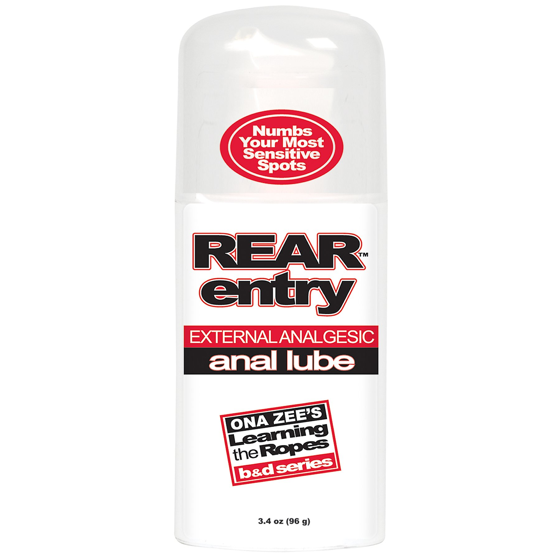 Top Rated - Rear Entry Anal Lube- 3.4OZ.