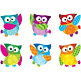 Trend Enterprises Owl-Stars! Classic Accents Variety Pack, 36 per Package (T-10996)