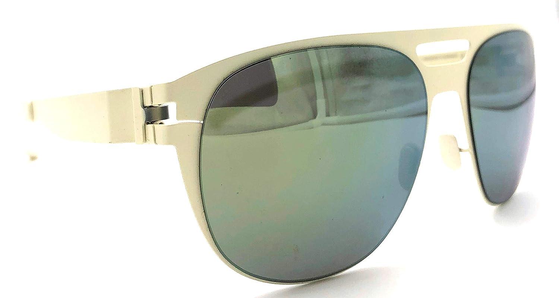 Amazon.com: Mykita No. 1 gafas de sol de aviador SunEdmund ...