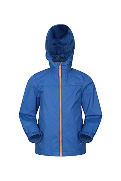 9e311915c Mountain Warehouse Torrent Kids Waterproof Rain Jacket - Taped Seams ...