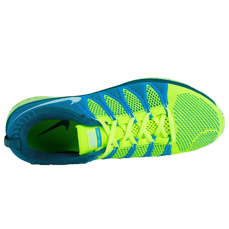 online store 41d4e 14868 ... france nike flyknit lunar2 mens running shoes 620465 714 volt 10. 5 m  us buy