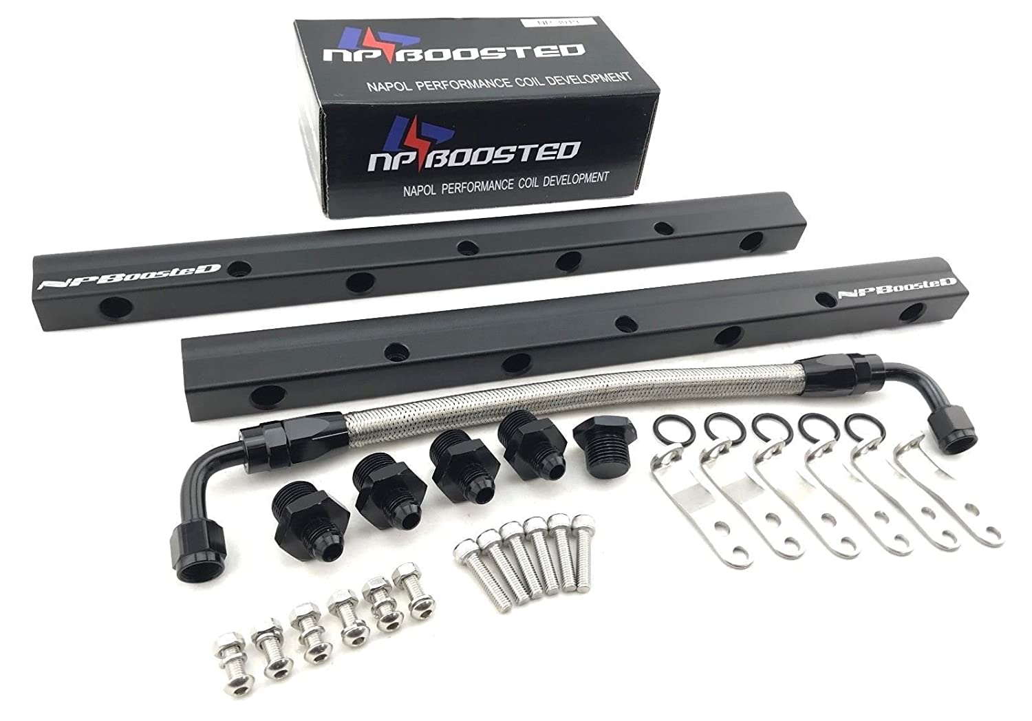 Replacement Parts NPBoosted Aluminum Custom Fuel Rail & Middle ...