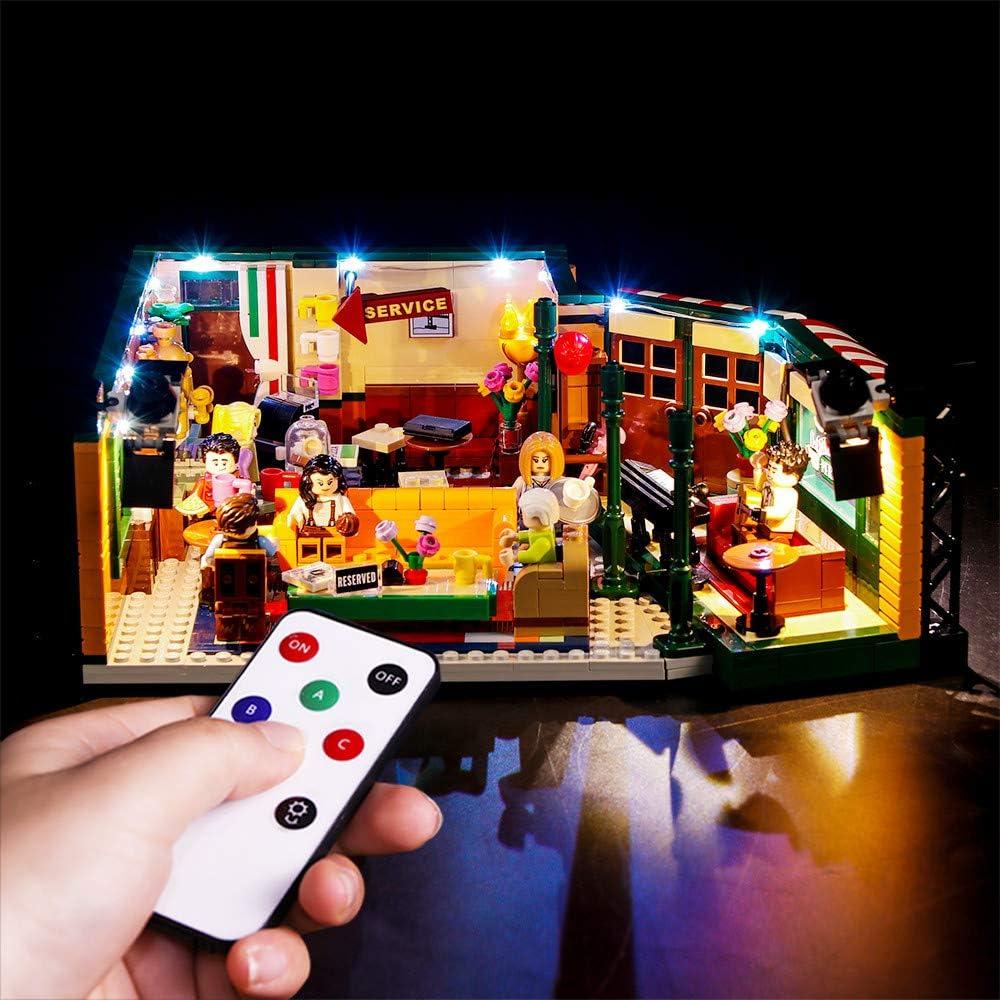 LED Light Kit For  21319 Friends Central Perk coffee shop Lighting Bricks