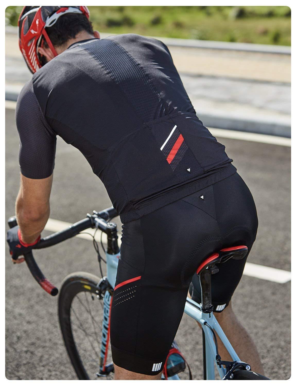 RION Mens Cycling Bibs Shorts Bike Padded Tights Bicycle Pants