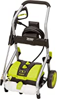 Sun Joe SPX4000-PRO 2030 Max PSI 1.76 GPM 14.5-Amp Electric Pressure Washer, w/Turbo Head Spray Nozzle