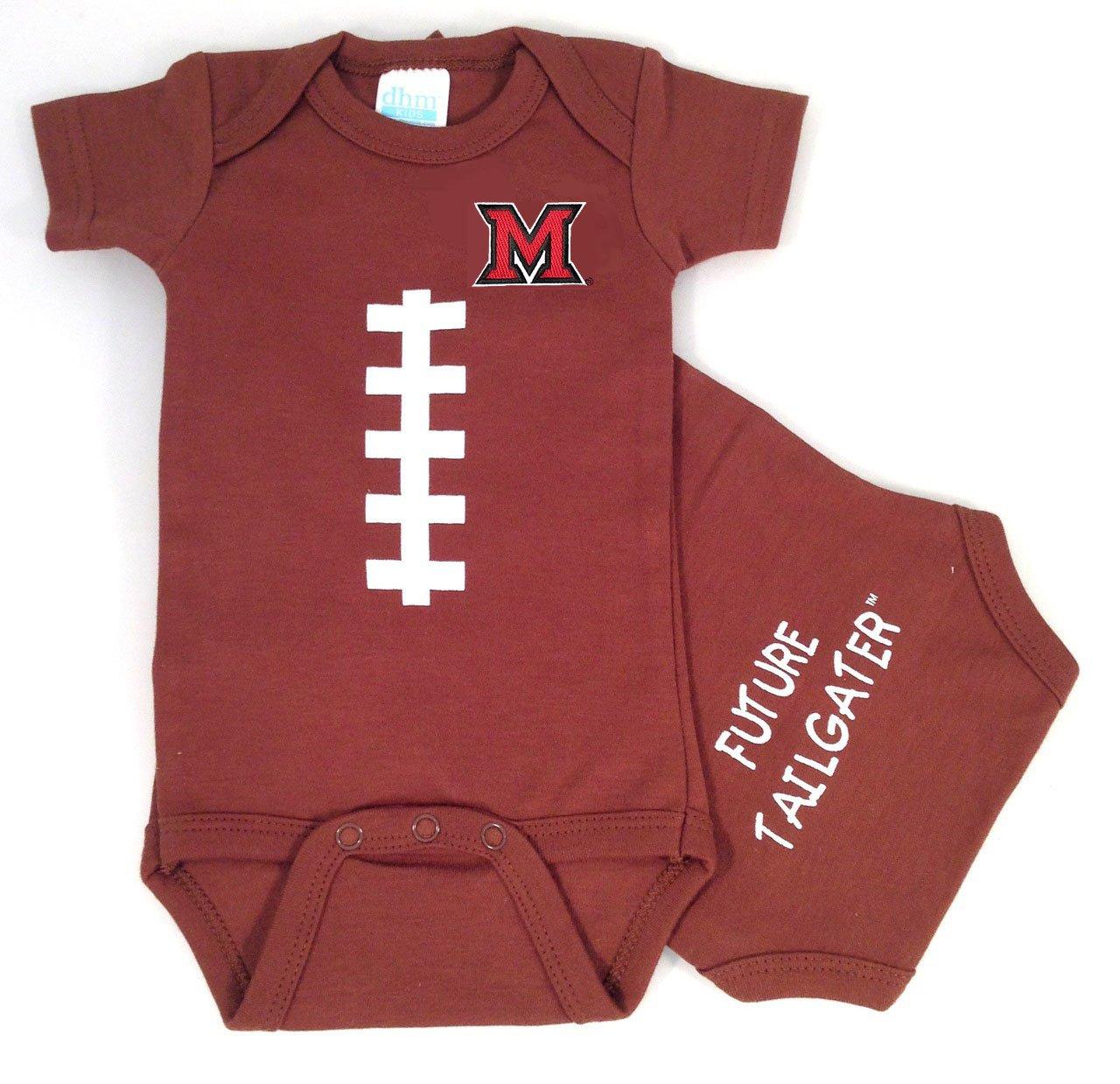 大注目 Future Tailgater Miami Ohio 6-12 Redhawks Miami Baby Onesieサッカー B073PC63MJ Ohio 6-12 months, 熊野黒潮本舗:e6776f4f --- svecha37.ru
