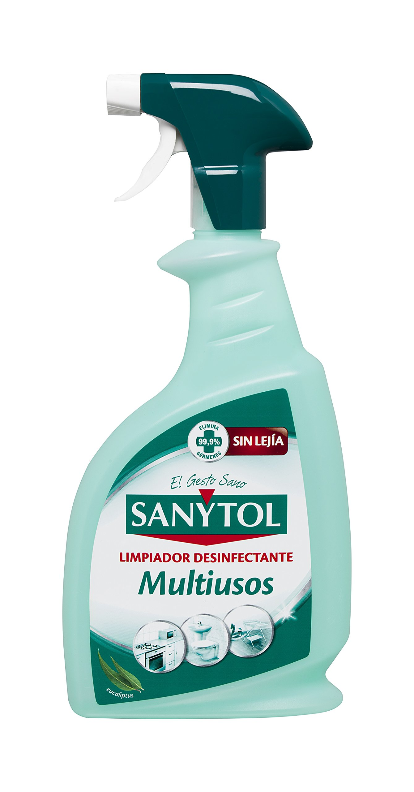 Sanytol - Limpiador Desinfectante Multiusos en Pistola, Todas las Superficies - 750 ml product image