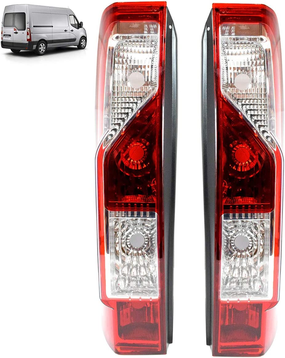 Pair L/&R Rear Tail Light Rear Light Truck Van Bus E-Mark New TOP Quality