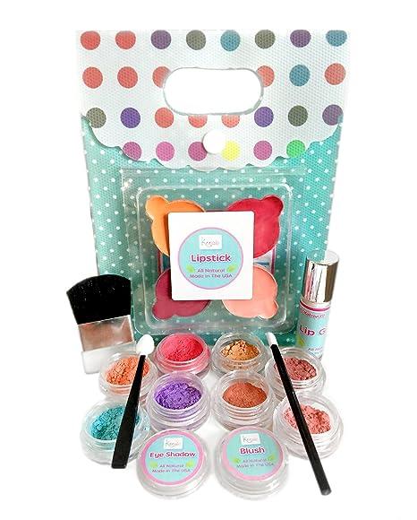 Organic Makeup For Kids Stunning Amazon Young Girls Makeup Kit All Natural Certified Organic