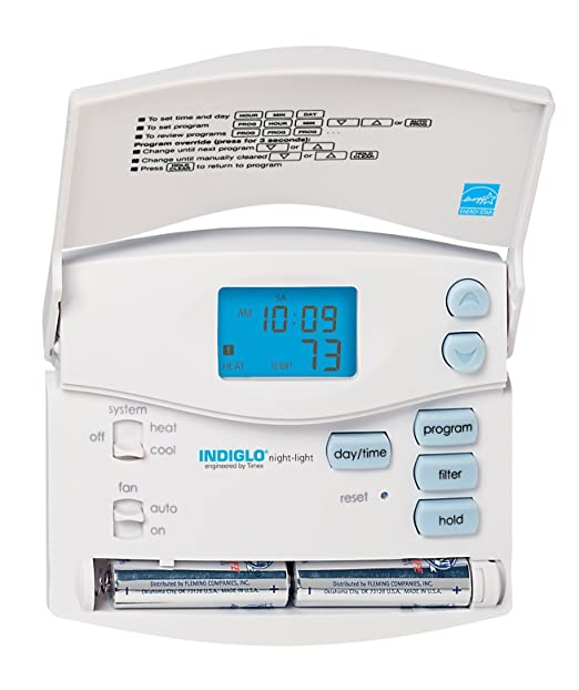 Hunter 44157 - Termostato digital programable de 5/2 días (termostato del hogar, CA, calor): Amazon.es: Bricolaje y herramientas