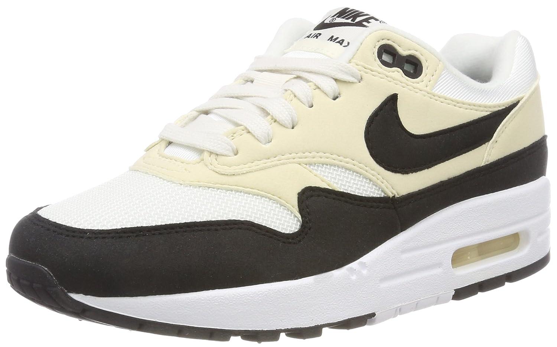 Nike Wmns Air MAX 1, Zapatillas de Gimnasia para Mujer 42 EU Multicolor (Vela / Negro / Fosil 106)