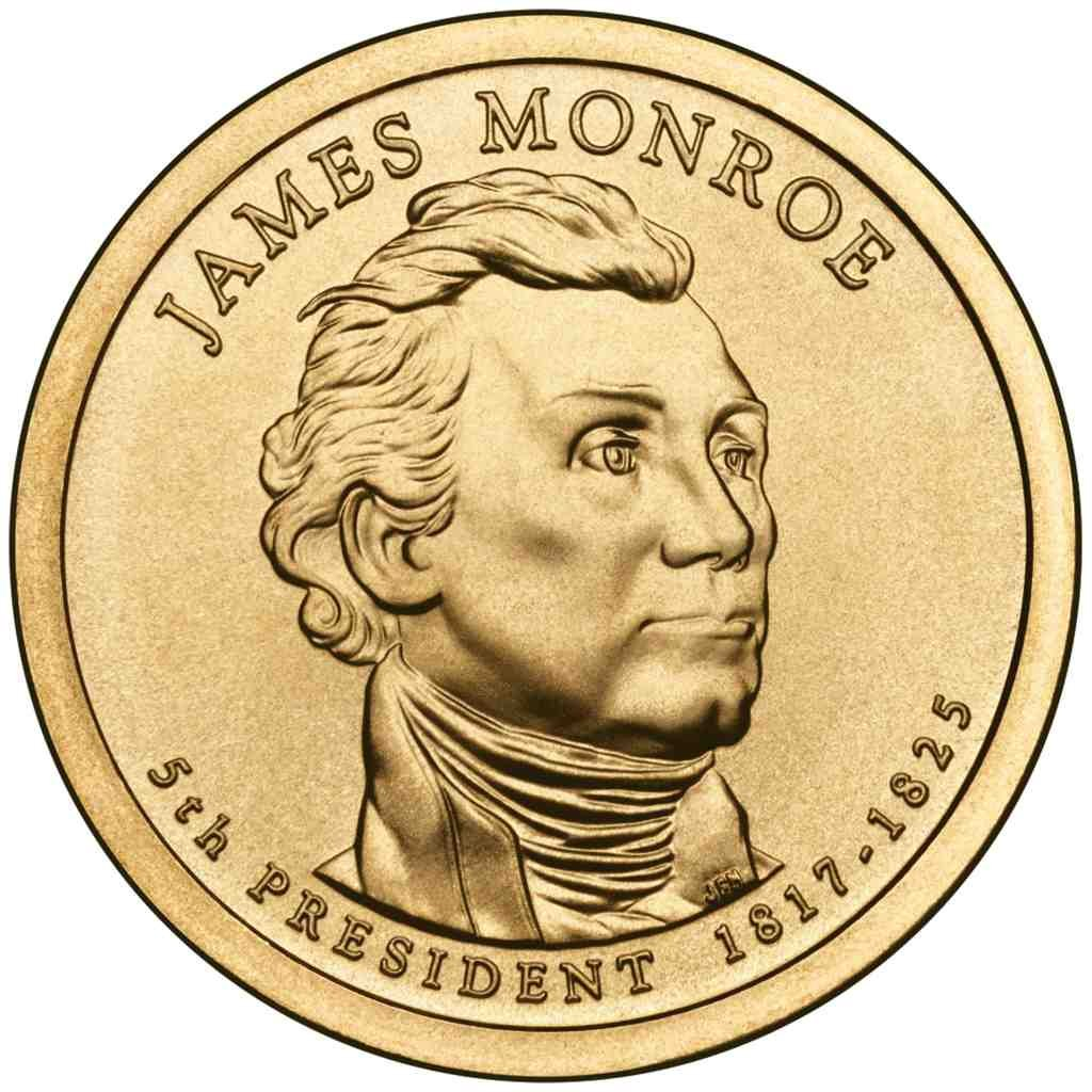 2008-P $1 James Monroe Presidential Dollar