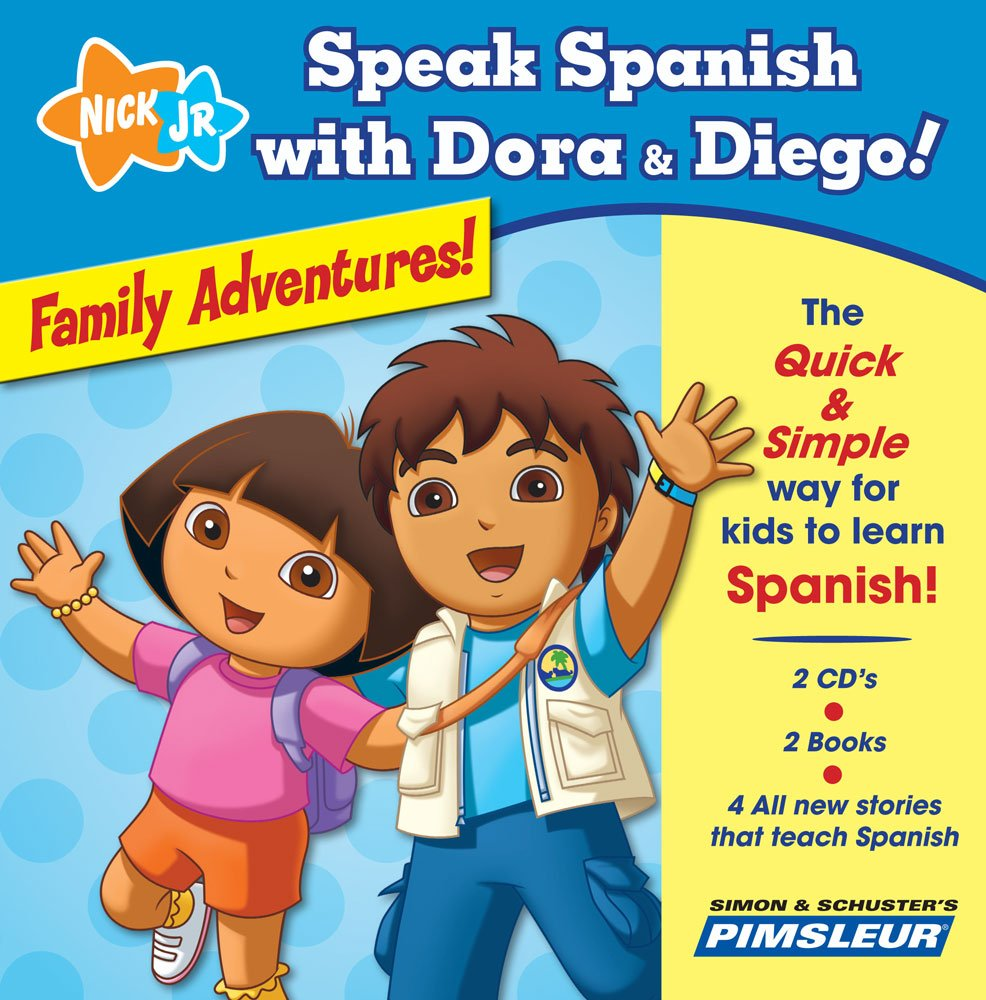 Family Adventures!: The Quick & Simple Way for Kids to Learn Spanish