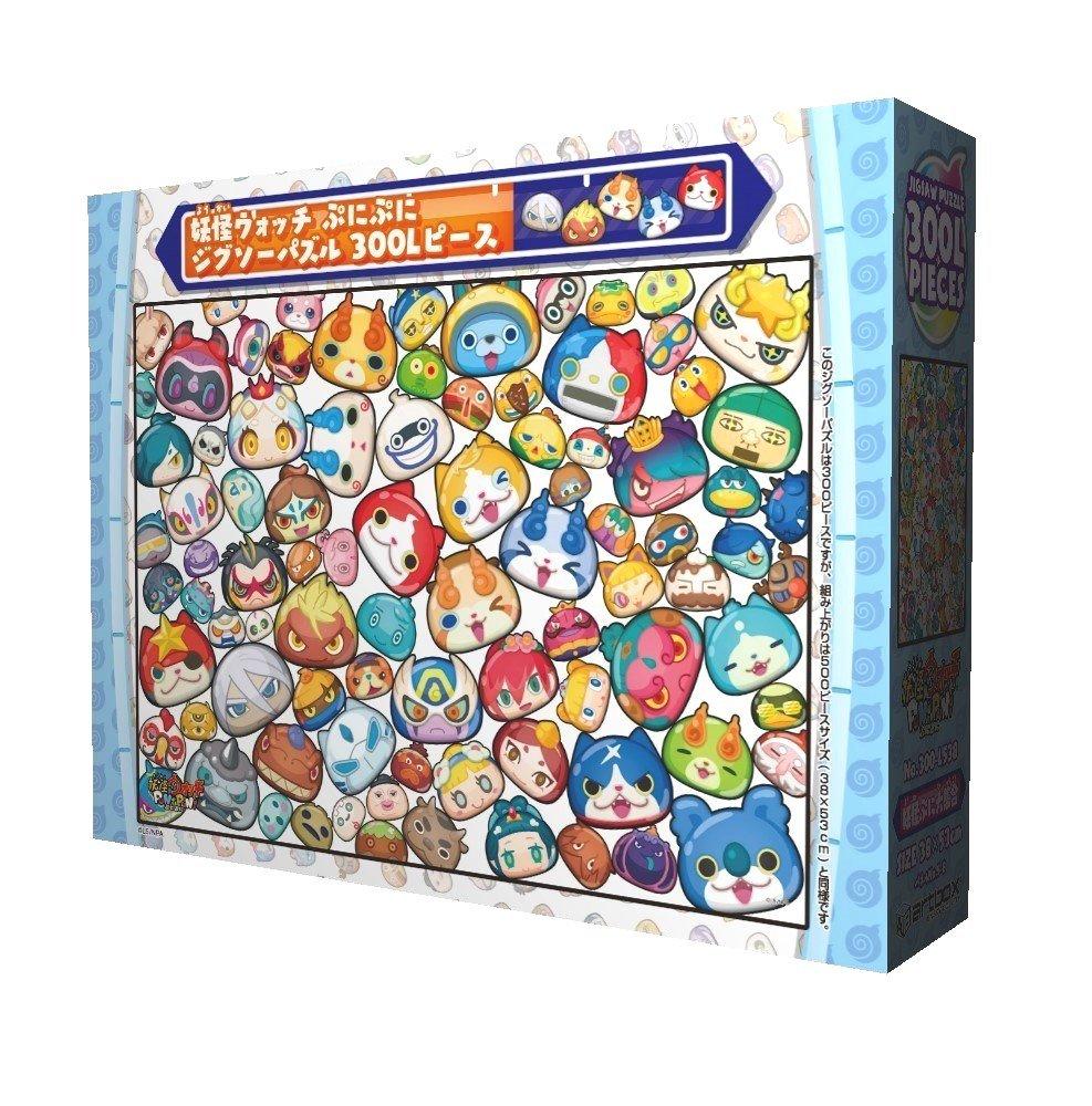 Ensky 300 Piece Jigsaw Puzzle Yokai Watcpuni Puni Yokai Pui Collection Large Piece (38 X 53 Cm) (japan import)