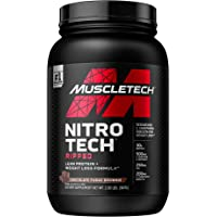 Protein Powder for Weight Loss | MuscleTech Nitro-Tech Ripped | Whey Protein Powder + Weight Loss Formula | Lose Weight…