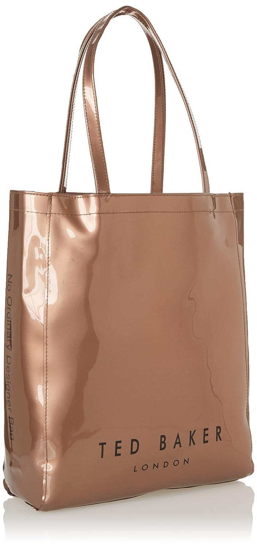de83a61ec Ted Baker NEW Large Gemcon Metalic Bow Gem Ikon Bag Rose Gold  Amazon.co.uk   Shoes   Bags