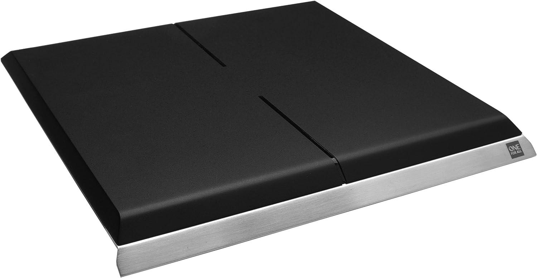One For All SV 9390 - Antena de televisión (DAB, 43 dBi, alta definición, amplificador digital con control táctil), color negro