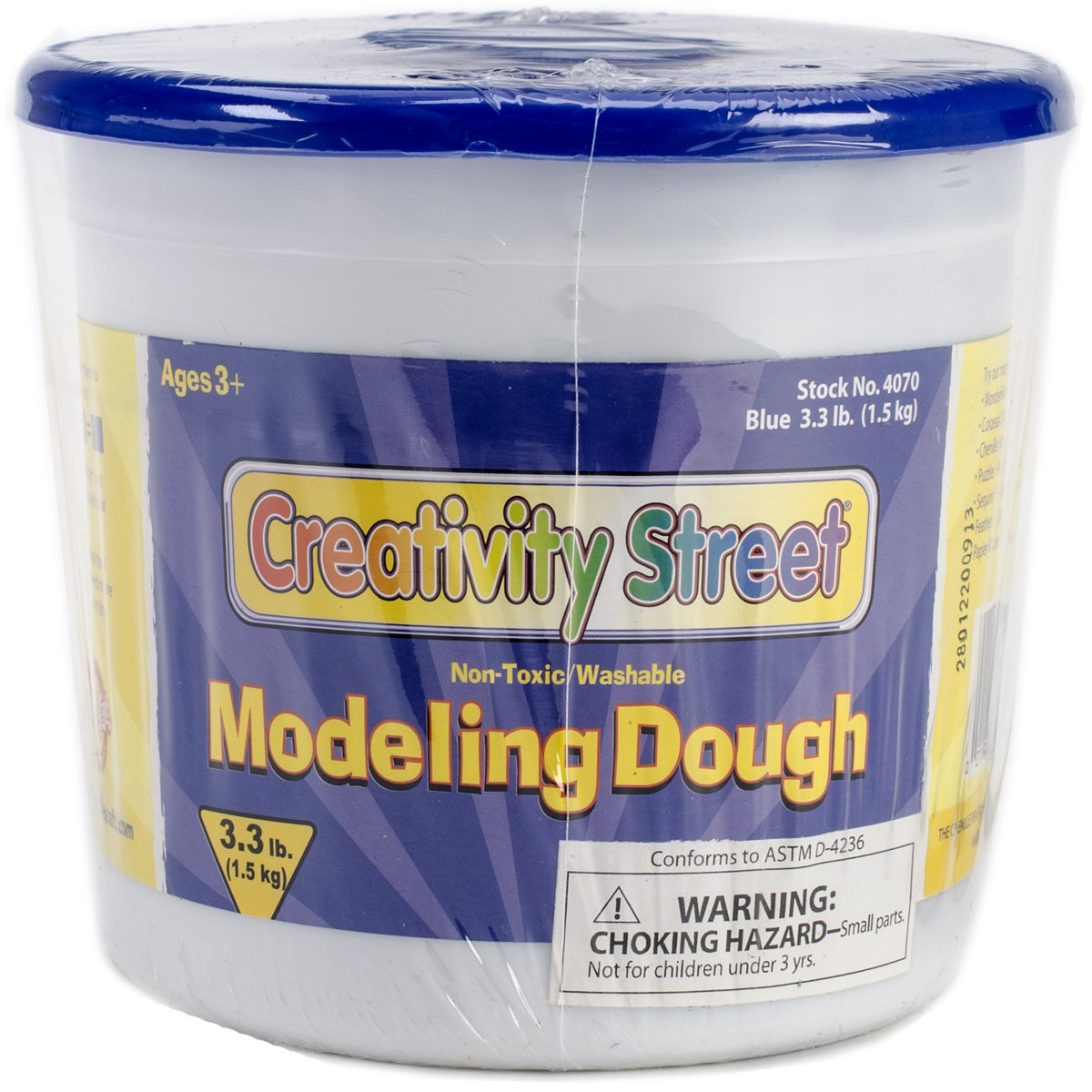 Chenille Kraft Blue Modeling Dough, 3-Pound. The Chenille Kraft Company 4070