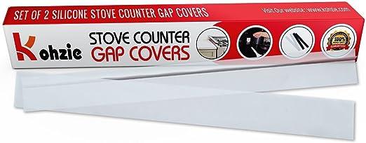 Amazon.com: Kohzie Cobertor para junta de estufa y encimera ...