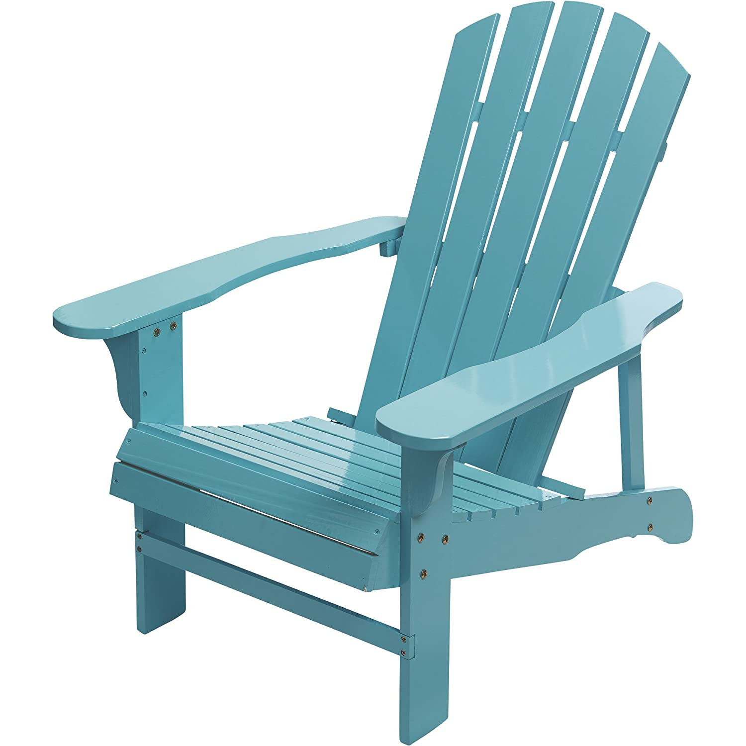 Amazon.com: Leigh Country Adirondack - Silla, Turquoise ...