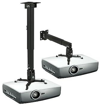 Mount-It. Pared o Techo Soporte para proyector con Universal ...