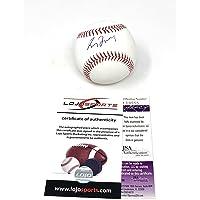 $125 » Greg Maddux Atlanta Braves Signed Autograph Official MLB Baseball JSA & LoJo Sports Authentic Certified