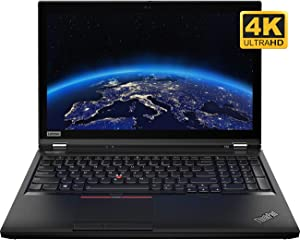 "Lenovo ThinkPad P53 Mobile 4G WWAN UHD Workstation 20QN001BUS - Intel Six Core i7-9750H, 16GB RAM, 512GB PCIe Nvme SSD, 15.6"" 4K 3840x2160 Display, NVIDIA Quadro T2000 4GB Graphics, Windows 10 Pro"