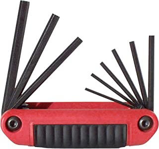 product image for EKLIND 25911 Ergo-Fold Fold-up Hex Key allen wrench - 9pc set SAE Inch Sizes 5/64-1/4