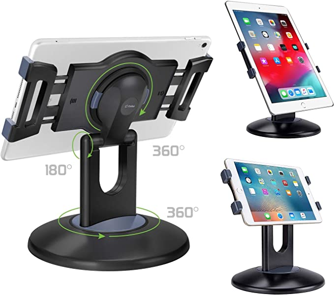 desktop not secure pad mount ipad holder Kwick POS universal tablet stand