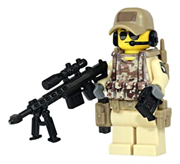 80 pcs minifigure military weapon swat police tools rifle pistol building bricks